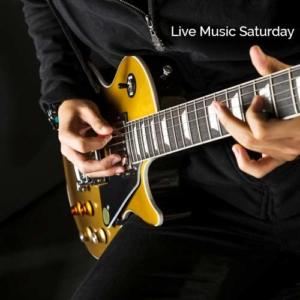 Live music playing guitar