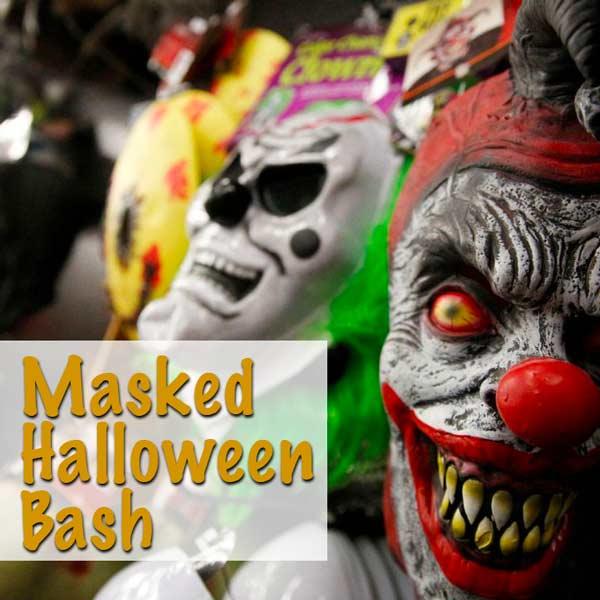 Masked Halloween Bash
